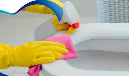 Cómo limpiar el inodoro para que quede reluciente