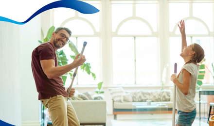 Cómo limpiar la casa rápido y completamente