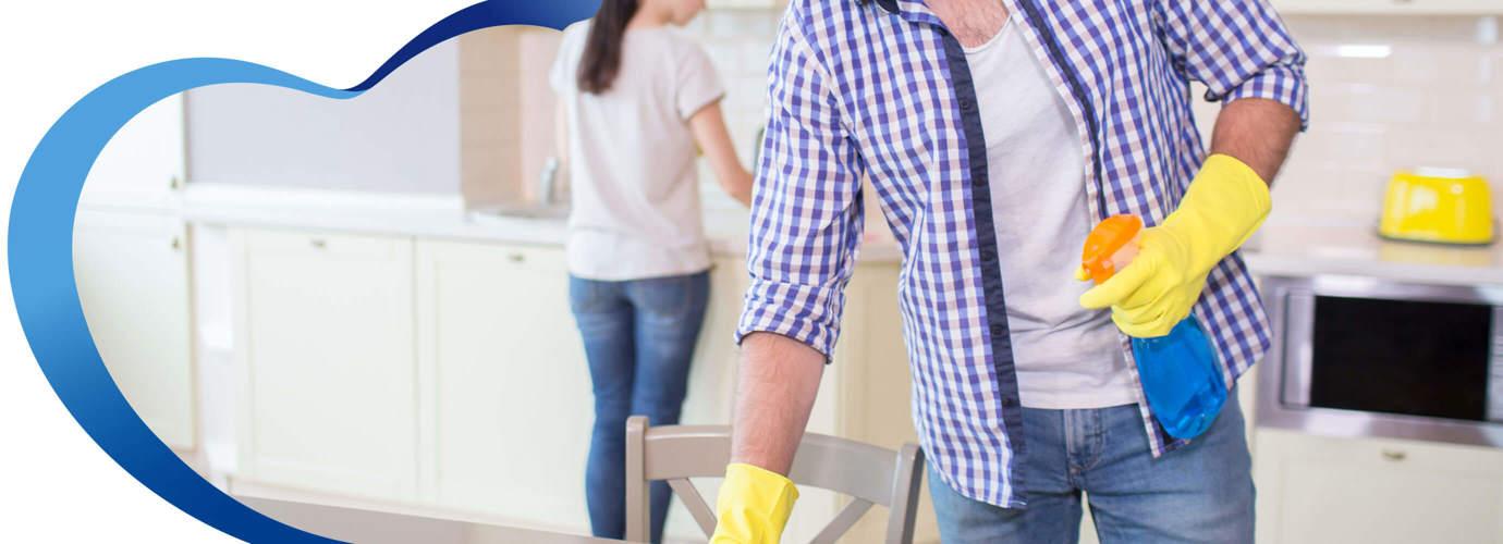 Tips sencillos para limpiar cocina y baños