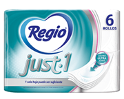 Papel higiénico y Papel higiénico húmedo Regio®