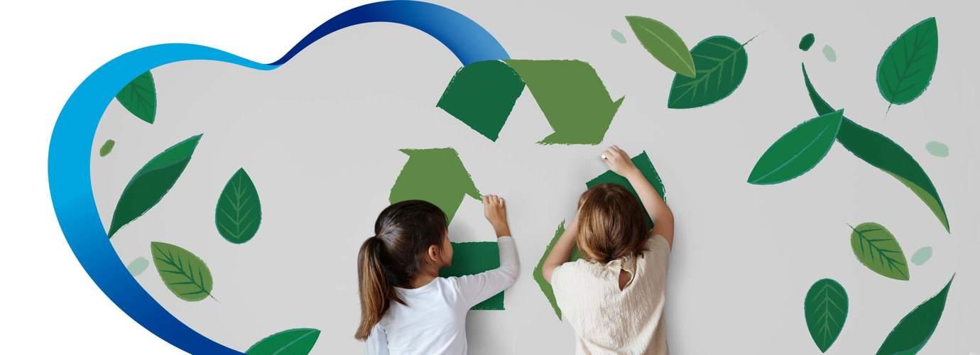 Enséñales a tus hijos a reciclar