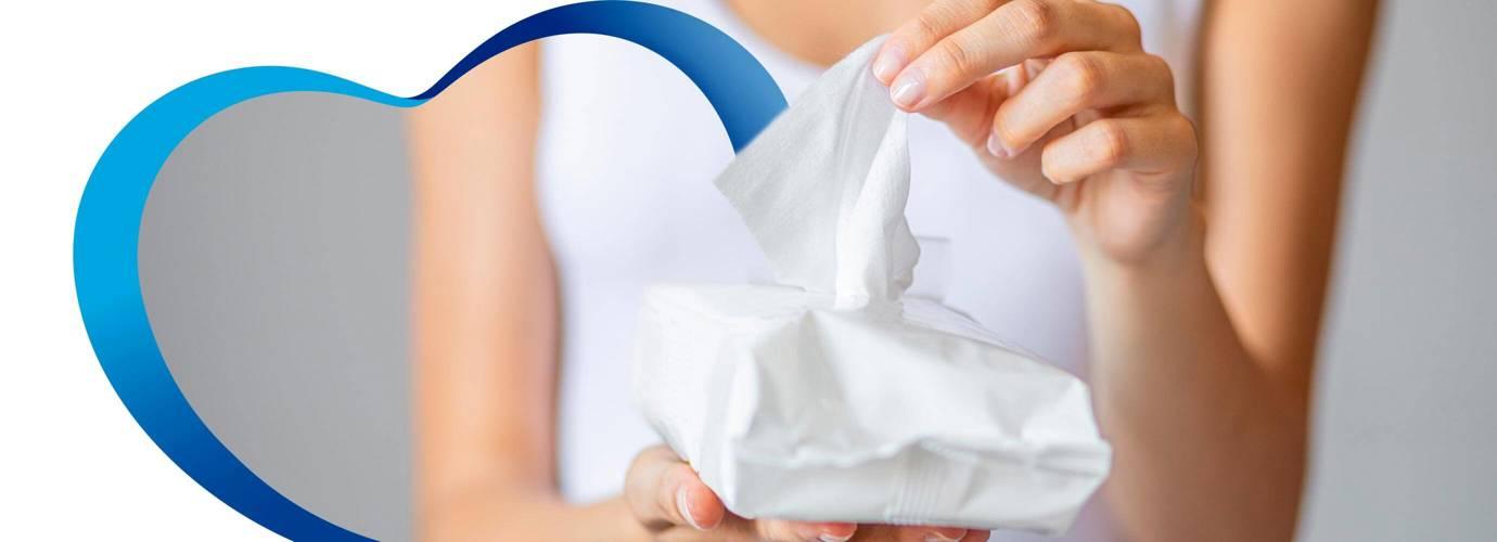 ¿El papel húmedo es igual que las toallitas húmedas?