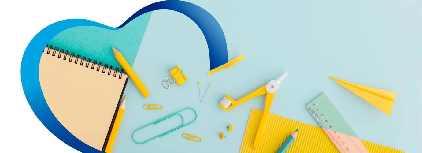 Organiza tus accesorios con rollos de cartón de papel higiénico