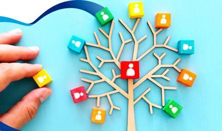 Crea un árbol genealógico en familia