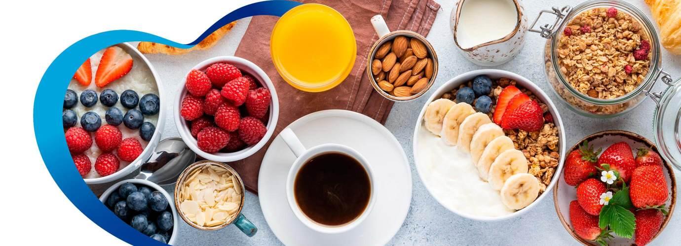 5 Ideas de desayunos saludables