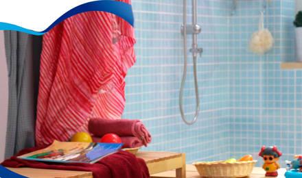 ¡Evita las bacterias en tu baño!