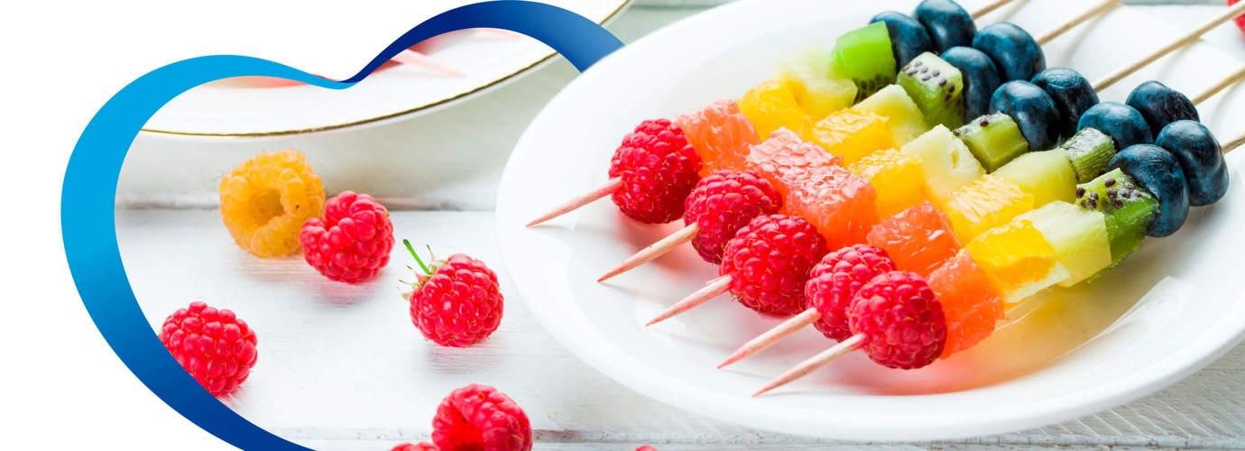 Ideas de frutas para fiestas infantiles