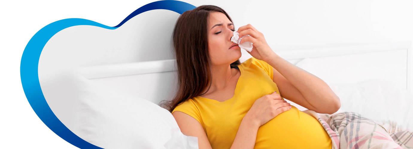 Cómo tratar el resfriado en el embarazo