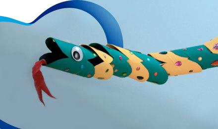 ¡Crea una divertida serpiente!