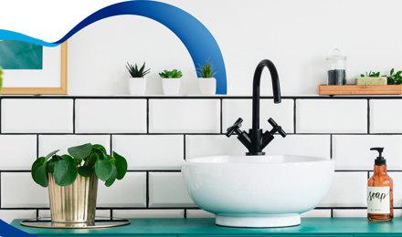 4 ideas de decoración para el baño