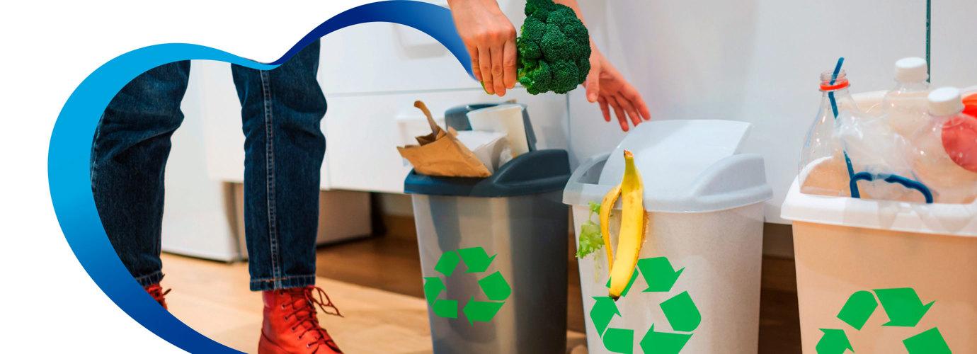 Cómo reducir los residuos domésticos