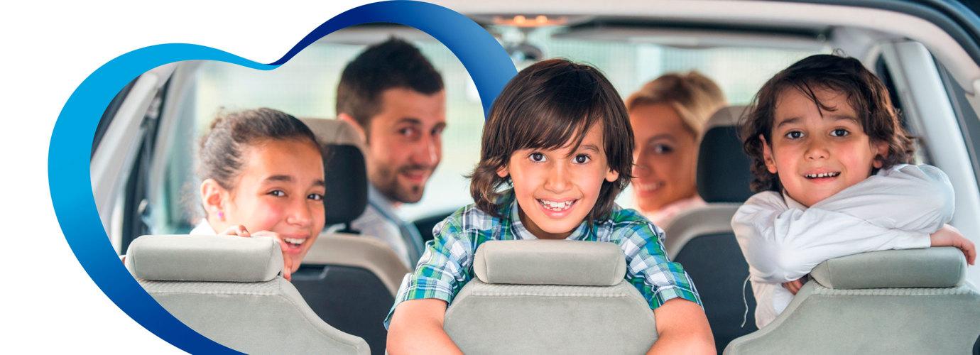 ¡Ayuda a evitar que tu hijo tenga mareos en el coche!