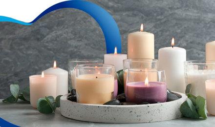 Haz tu propia vela aromática