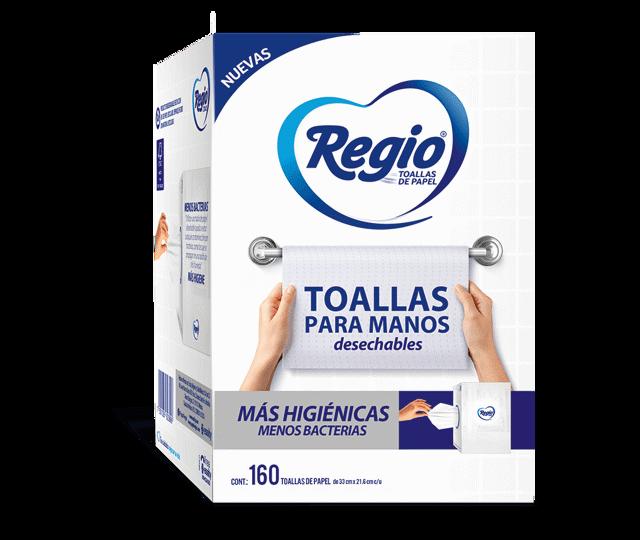 REGIO TOALLAS PARA MANOS FRENTE