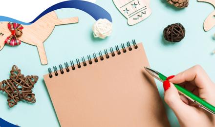 ¿Cómo hacer una tarjeta de Navidad? 2 ideas para niños.