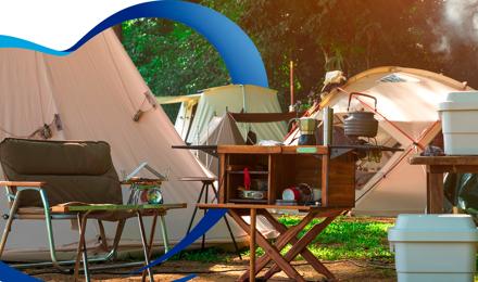 5 Usos del papel higiénico al ir a acampar.