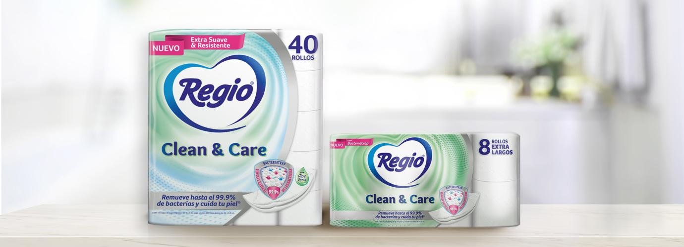 Regio Papel Higiénico Clean & Care