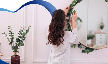 Decora los espejos de tu casa de una manera increíble.
