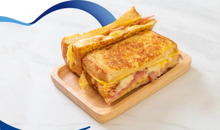 Prepara un rico sándwich estilo francés