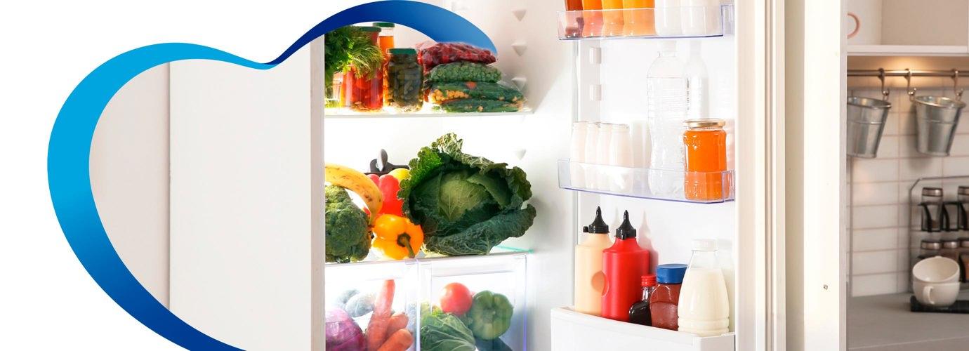 Cómo organizar los alimentos en el refrigerador