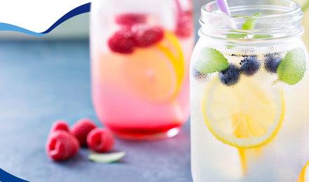 ¡5 aguas de fruta para refrescarte en verano!