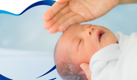 Recomendaciones para bañar a un recién nacido.